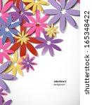 flower background | Shutterstock .eps vector #165348422