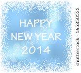 Vector Happy New Year Winter...