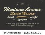 """ montana avenue  santa monica""... | Shutterstock .eps vector #1653582172"