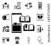 smartphone media player icon....
