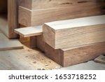 Oak Wooden Bar Blocks Materials ...