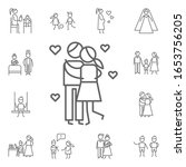kiss  love  parents icon.... | Shutterstock .eps vector #1653756205