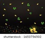 happy st. patrick's day. st.... | Shutterstock .eps vector #1653756502