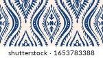 geometric folklore ornament... | Shutterstock .eps vector #1653783388