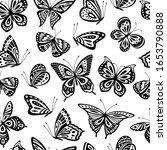 Butterflies Pattern. Romantic...