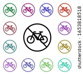 ban bicycle multi color style...