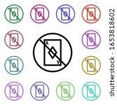 card prohibition multi color...