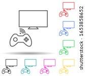 game console multi color style...