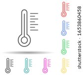 thermometer multi color style... | Shutterstock .eps vector #1653860458