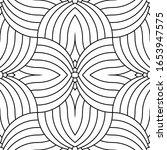 vector geometric seamless... | Shutterstock .eps vector #1653947575