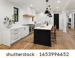 Beautiful White Kitchen With...