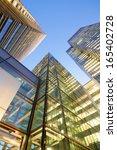 financial corporate building... | Shutterstock . vector #165402728