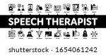 speech therapist help minimal...   Shutterstock .eps vector #1654061242