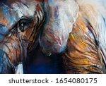 Pastel Portrait Painting....
