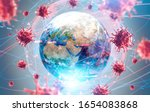Coronavirus Flu Ncov Over Earth ...