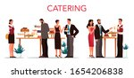 catering concept illustration.... | Shutterstock .eps vector #1654206838