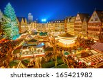 traditional christmas market in ... | Shutterstock . vector #165421982