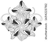 coloring page for fun and...   Shutterstock .eps vector #1654223782