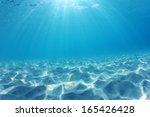 Underwater Ocean Background...