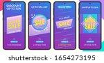 stories sale banner design...