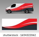 van wrap design template vector ... | Shutterstock .eps vector #1654322062