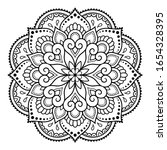 circular pattern in form of...   Shutterstock .eps vector #1654328395