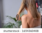 Attractive Girl With Comb...
