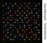 modern artwork of abstract... | Shutterstock .eps vector #1654366192
