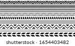 tribal ethnic seamless stripe... | Shutterstock .eps vector #1654403482
