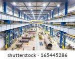 interior of workshop | Shutterstock . vector #165445286