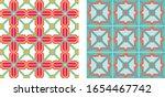 Seamless Repeat Pattern. Retro...