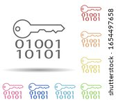 electronic key in multi color...