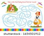 help little red riding hood... | Shutterstock .eps vector #1654501912