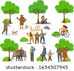 active pastime on nature at... | Shutterstock .eps vector #1654507945