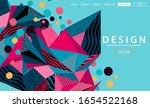 triangle background elegant eps ... | Shutterstock .eps vector #1654522168