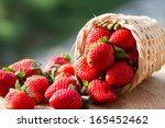Strawberries In Natural...