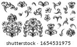 vintage baroque victorian frame ... | Shutterstock .eps vector #1654531975