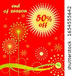 discount hot red label for... | Shutterstock .eps vector #1654555642