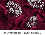 hand drawn floral pattern with... | Shutterstock .eps vector #1654584832