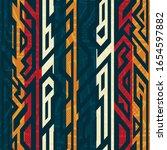 african geometric seamless...   Shutterstock .eps vector #1654597882