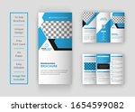 business trifold brochure... | Shutterstock .eps vector #1654599082