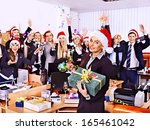 Happy Business Group People In...