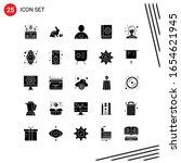 collection of 25 vector icons... | Shutterstock .eps vector #1654621945