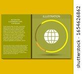 world vector icon design 10 eps ... | Shutterstock .eps vector #1654626862