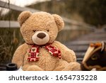 Picture Of Child Teddy Bear...