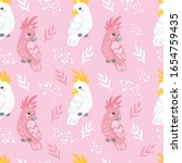 vector seamless pattern with... | Shutterstock .eps vector #1654759435