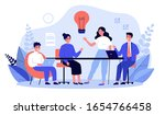business team working together  ... | Shutterstock .eps vector #1654766458