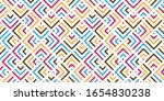 abstract colorful geometric... | Shutterstock .eps vector #1654830238
