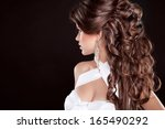 Hairstyle. Long Hair. Glamour...