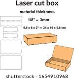 laser cutting design laser cut... | Shutterstock .eps vector #1654910968